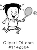 Royalty-Free (RF) Tennis Clipart Illustration #1142664