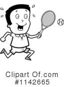 Royalty-Free (RF) Tennis Clipart Illustration #1142665