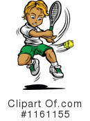Royalty-Free (RF) Tennis Clipart Illustration #1161155