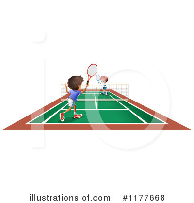 Tennis Clipart #1177668 by Graphics RF
