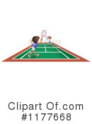Royalty-Free (RF) tennis Clipart Illustration #1177668