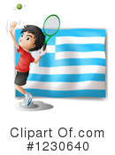 Tennis Clipart #1230640 by Graphics RF
