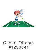 Tennis Clipart #1230641 by Graphics RF