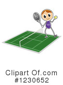 Tennis Clipart #1230652 by Graphics RF