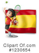 Tennis Clipart #1230654 by Graphics RF