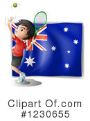 Tennis Clipart #1230655 by Graphics RF