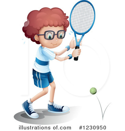 Tennis Clipart #1230950 by Graphics RF