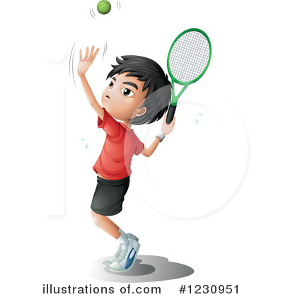 Tennis Clipart #1230951 by Graphics RF