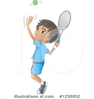 Tennis Clipart #1230952 by Graphics RF