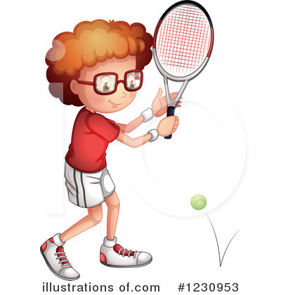 Tennis Clipart #1230953 by Graphics RF