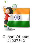Tennis Clipart #1237813 by Graphics RF