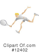 Royalty-Free (RF) Tennis Clipart Illustration #12402