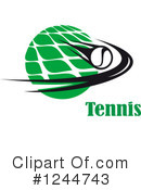 Tennis Clipart #1244743 by Vector Tradition SM