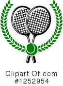 Tennis Clipart #1252954 by Vector Tradition SM