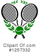 Tennis Clipart #1257332 by Vector Tradition SM