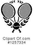 Tennis Clipart #1257334 by Vector Tradition SM