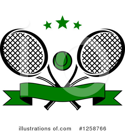 Tennis Clipart #1258766 by Vector Tradition SM