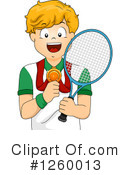 Royalty-Free (RF) Tennis Clipart Illustration #1260013