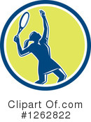 Royalty-Free (RF) Tennis Clipart Illustration #1262822