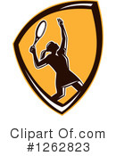 Royalty-Free (RF) Tennis Clipart Illustration #1262823