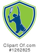 Royalty-Free (RF) Tennis Clipart Illustration #1262825