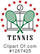 Tennis Clipart #1267425 by Vector Tradition SM