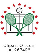Tennis Clipart #1267426 by Vector Tradition SM