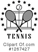 Tennis Clipart #1267427 by Vector Tradition SM