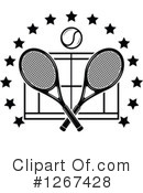 Tennis Clipart #1267428 by Vector Tradition SM