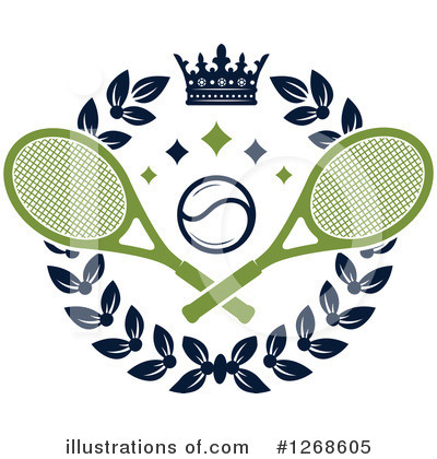 Tennis Clipart #1268605 by Vector Tradition SM
