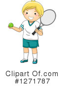 Tennis Clipart #1271787 by BNP Design Studio