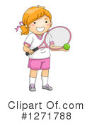 Tennis Clipart #1271788 by BNP Design Studio