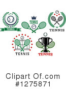 Tennis Clipart #1275871 by Vector Tradition SM