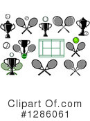 Tennis Clipart #1286061 by Vector Tradition SM
