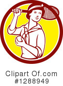 Royalty-Free (RF) Tennis Clipart Illustration #1288949