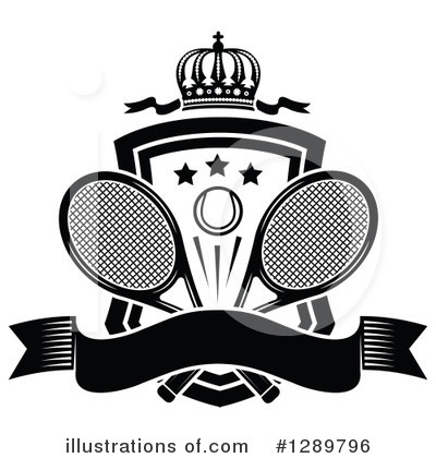 Tennis Clipart #1289796 by Vector Tradition SM