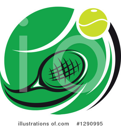Tennis Clipart #1290995 by Vector Tradition SM