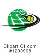 Tennis Clipart #1290998 by Vector Tradition SM