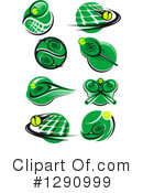 Tennis Clipart #1290999 by Vector Tradition SM
