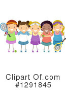 Tennis Clipart #1291845 by BNP Design Studio