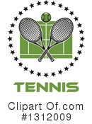 Tennis Clipart #1312009 by Vector Tradition SM