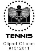 Tennis Clipart #1312011 by Vector Tradition SM