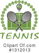 Tennis Clipart #1312013 by Vector Tradition SM