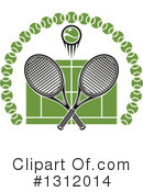 Tennis Clipart #1312014 by Vector Tradition SM