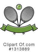 Tennis Clipart #1313889 by Vector Tradition SM
