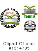 Tennis Clipart #1314795 by Vector Tradition SM