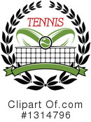 Tennis Clipart #1314796 by Vector Tradition SM