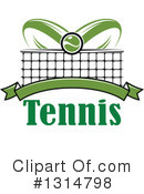 Tennis Clipart #1314798 by Vector Tradition SM