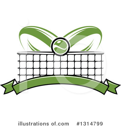 Tennis Clipart #1314799 by Vector Tradition SM