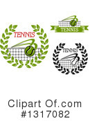 Tennis Clipart #1317082 by Vector Tradition SM